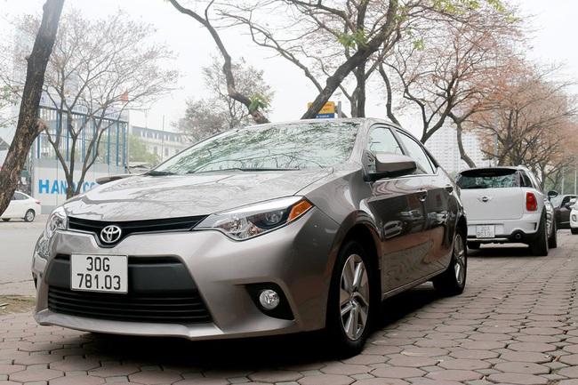 Hàng hiếm Toyota Corolla LE Eco 2014 nhập Mỹ, đi hơn 2 vạn, rao bán ngang Altis đời 2021 - Ảnh 1.