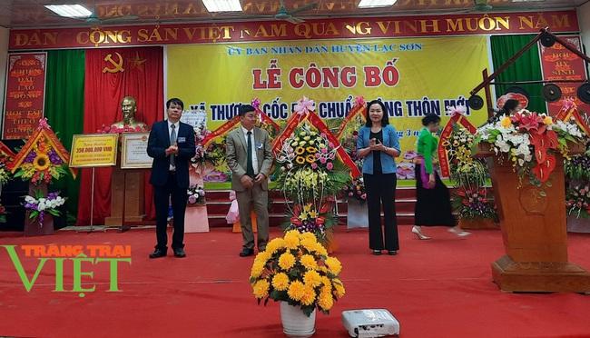 Hoà Bình: Công bố xã đạt chuẩn nông thôn mới ở huyện Lạc Sơn - Ảnh 4.