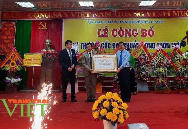 Hoà Bình: Công bố xã đạt chuẩn nông thôn mới ở huyện Lạc Sơn - Ảnh 2.