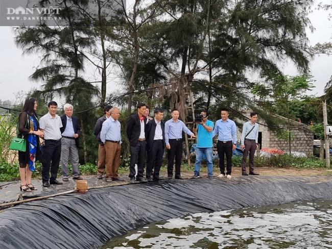 Tập đoàn Thủy sản Bồ Đề tập huấn kỹ thuật và hỗ trợ sản phẩm sinh học Mother water cho nông dân nuôi tôm - Ảnh 1.