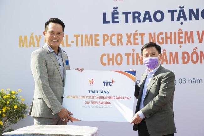 Tỉnh Lâm Đồng tiếp nhận máy REAL-TIME PCR xét nghiệm virus SAR-COV-2 - Ảnh 1.