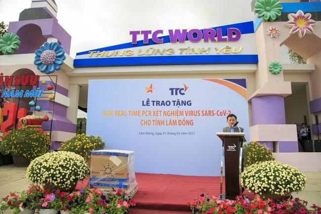 Tỉnh Lâm Đồng tiếp nhận máy REAL-TIME PCR xét nghiệm virus SAR-COV-2 - Ảnh 3.