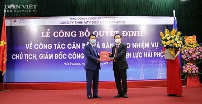 Bổ nhiệm Chủ tịch kiêm Giám đốc Công ty Điện lực Hải Phòng - Ảnh 1.