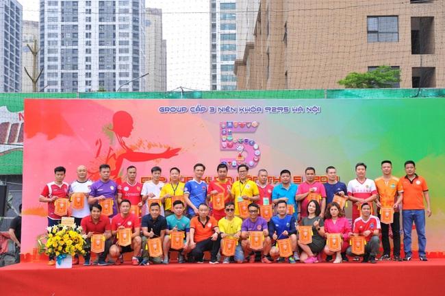 Khai mạc Giải bóng đá Cúp Mùa Xuân 92-95 Hà Nội lần thứ 5-2021 - Ảnh 1.