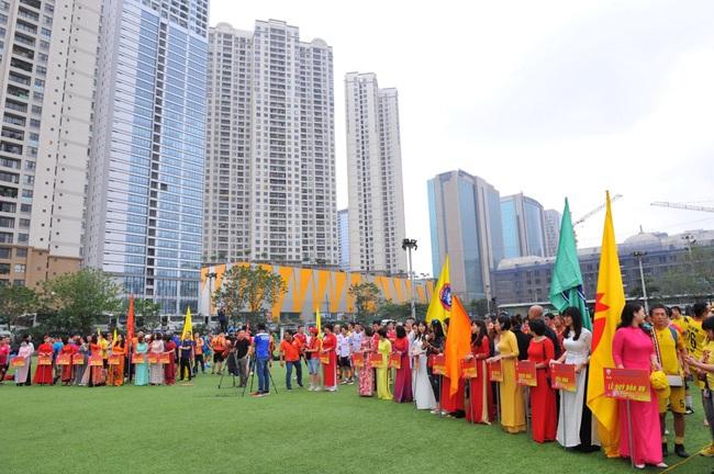 Khai mạc Giải bóng đá Cúp Mùa Xuân 92-95 Hà Nội lần thứ 5-2021 - Ảnh 2.