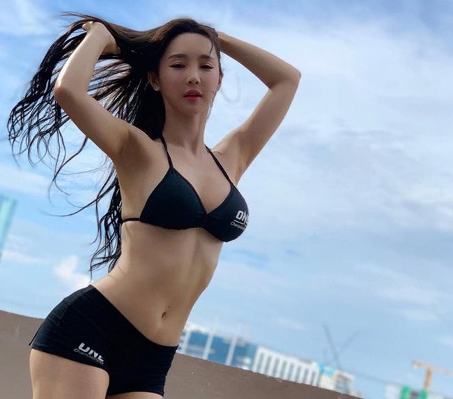 Lee Jina: Ring girl Hàn Quốc xinh đẹp, đa tài và nổi tiếng châu Á - Ảnh 8.
