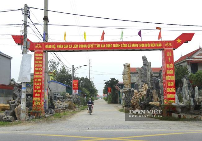 Hà Nam: Xã Liêm Phong có gì đặc biệt để được công nhận nông thôn mới kiểu mẫu? - Ảnh 1.