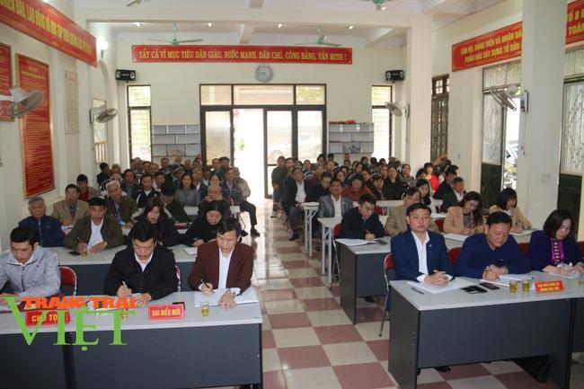 Sơn La: Lấy ý kiến và tín nhiệm cử tri với người ứng cử đại biểu HĐND các cấp nhiệm kỳ 2021 - 2026 - Ảnh 1.