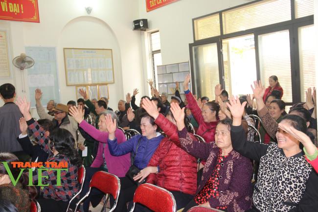 Sơn La: Lấy ý kiến và tín nhiệm cử tri với người ứng cử đại biểu HĐND các cấp nhiệm kỳ 2021 - 2026 - Ảnh 4.