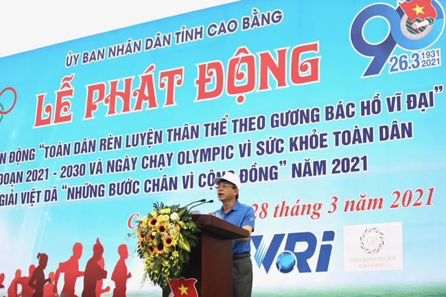 2.000 người hưởng ứng Ngày chạy Olympic vì sức khoẻ nhân dân - Ảnh 1.