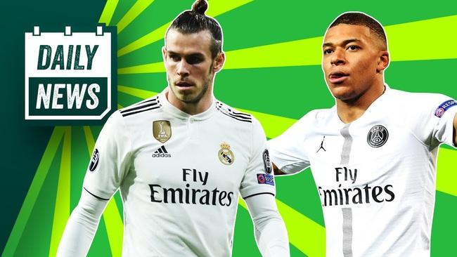 Real Madrid đã đặt mục tiêu chiêu mộ Mbappe thay Bale.