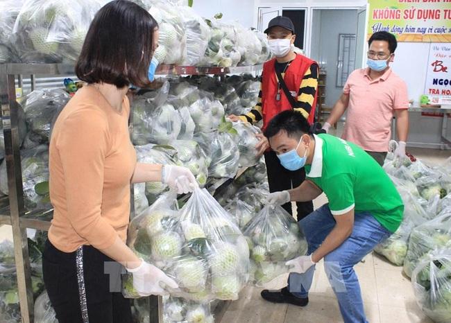 Người dân Ninh Bình tiêu thụ nông dân cho nông dân Hải Dương - Ảnh 2.