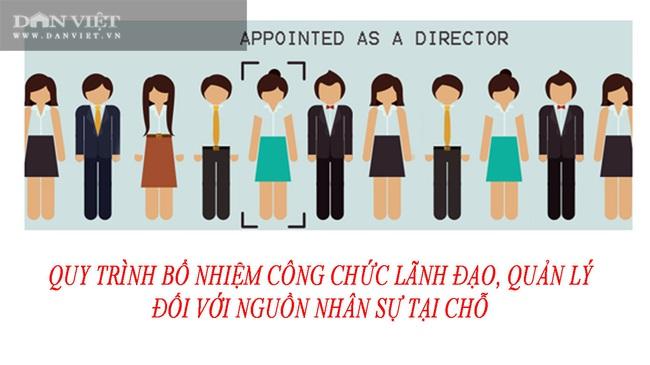 Quy trình bổ nhiệm công chức lãnh đạo, quản lý - Ảnh 1.