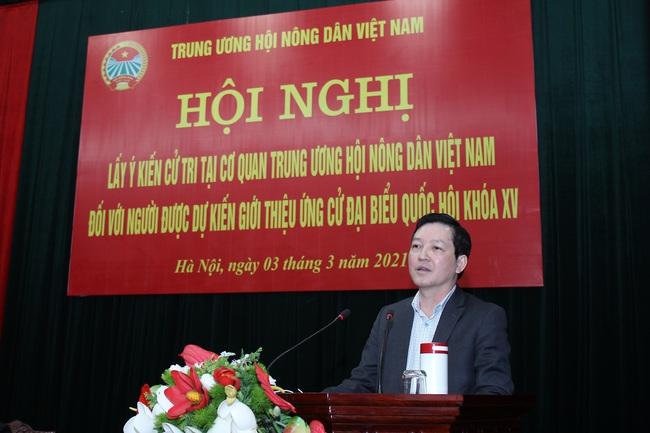 Đồng chí Lương Quốc Đoàn được giới thiệu ứng cử Đại biểu Quốc hội khóa XV - Ảnh 1.