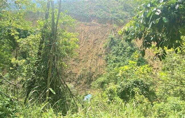 Đà Nẵng: Xe chở keo mất phanh lật xuống vực đè chết nữ công nhân, tài xế nguy kịch - Ảnh 1.