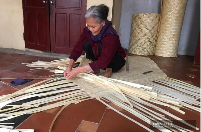 Thanh Hóa: Nghề đan cót làng Giàng đã hết thời? - Ảnh 1.