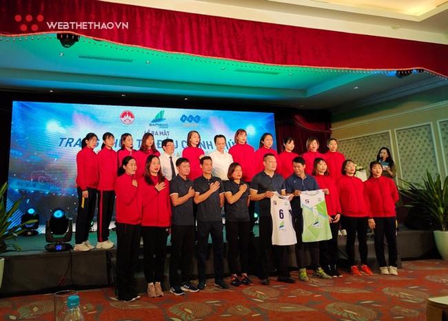 """Hoa khôi Kim Huệ và """"bài test"""" quan trọng với Bamboo Airways Vĩnh Phúc - Ảnh 2."""