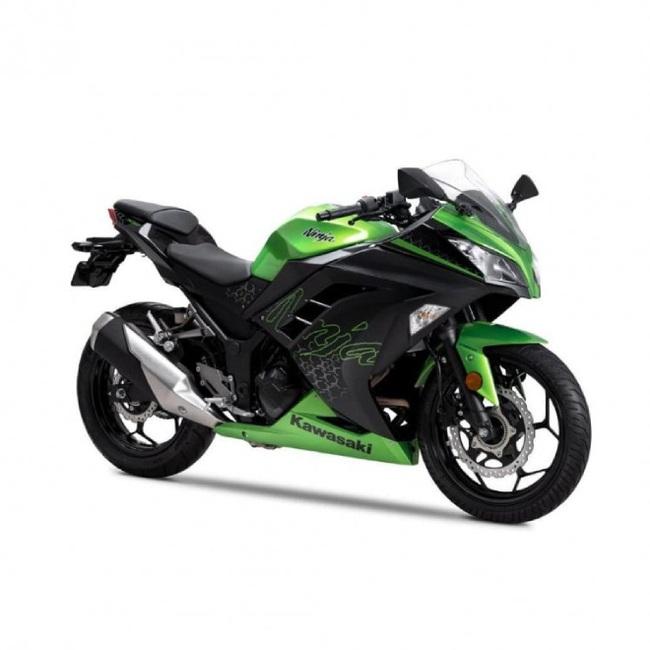 BS6 Kawasaki Ninja 300 ra mắt, giá chỉ 101 triệu đồng  - Ảnh 2.