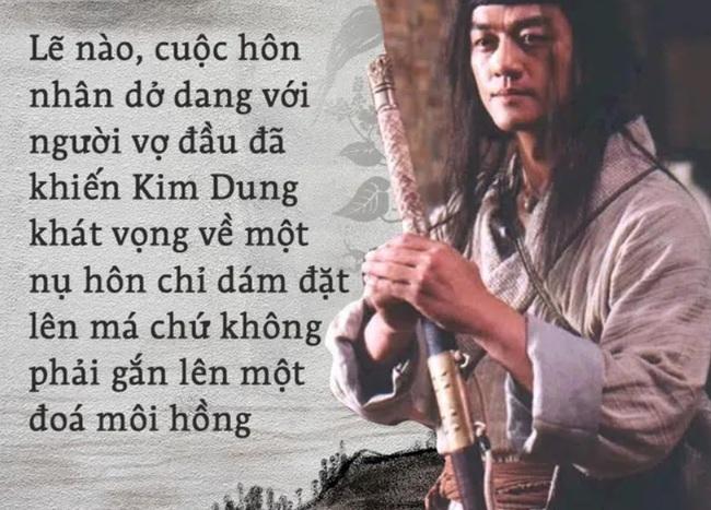 Tình nhân Lệnh Hồ Xung và nụ hôn đẹp nhất một đời Kim Dung! - Ảnh 3.