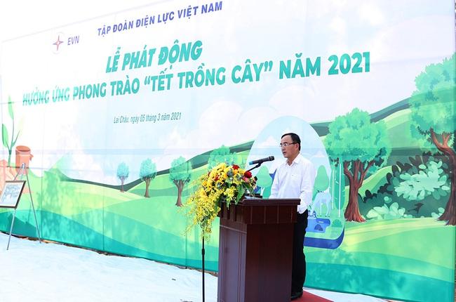 """EVN phát động """"Tết trồng cây"""" 2021 - Ảnh 1."""