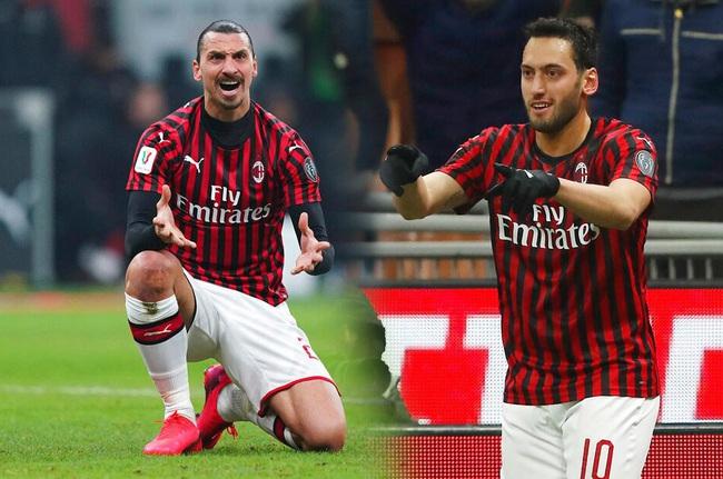 AC Milan tổn thất lớn về lực lượng.