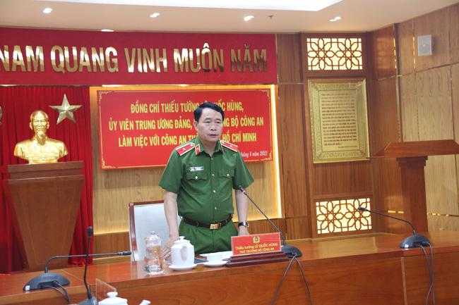 Thứ trưởng Bộ Công an Lê Quốc Hùng: Xử lý nghiêm chặn cao tốc đua xe trái phép - Ảnh 2.