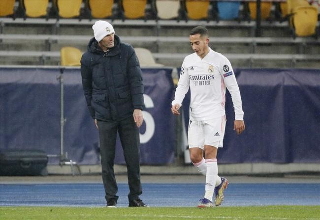 Vazquez là trò cưng của HLV Zidane.