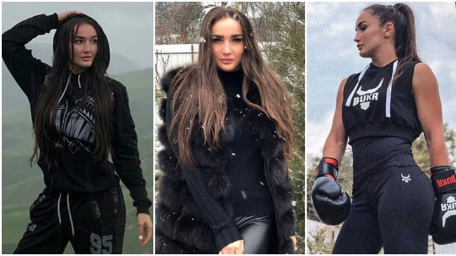 Diana Avsaragova sở hữu khuôn mặt xinh, thân hình cân đối.