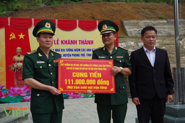 Lai Châu: Khánh thành giai đoạn 1 Nhà bia ghi tên các anh hùng liệt sĩ - Ảnh 2.