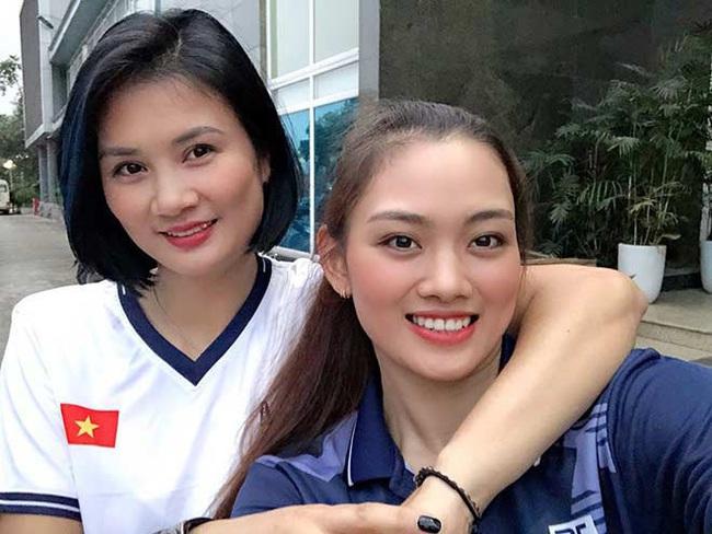 Báo Trung Quốc tấm tắc khen nhan sắc của chuyền hai Thu Hoài - Ảnh 1.