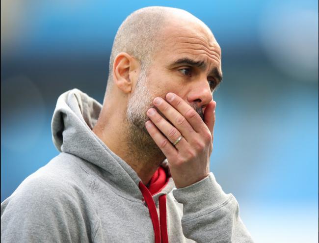 Pep thể hiện sự lo lắng trước lượt về tứ kết Champions League.
