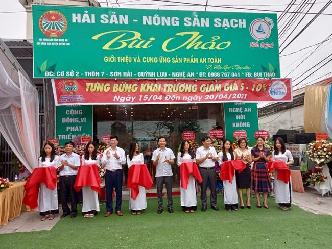 Hội Nông dân tỉnh Nghệ An: Triển khai cửa hàng kinh doanh nông sản thực phẩm an toàn   - Ảnh 1.