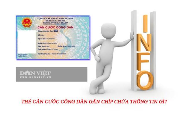 Thẻ căn cước công dân gắn chíp chứa thông tin gì? - Ảnh 1.