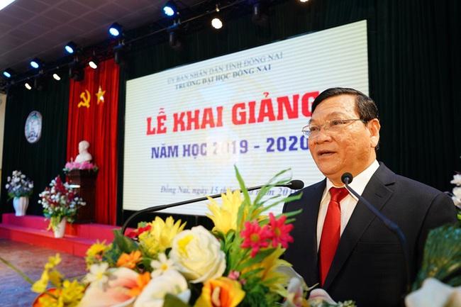 """Nhiều """"lùm xùm"""" tại ĐH Đồng Nai khiến hiệu trưởng bị cách hết chức vụ trong Đảng - Ảnh 2."""