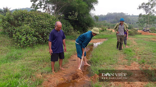 Hà Tĩnh: Nông dân bất lực nhìn ruộng bị vùi lấp sau mỗi trận mưa - Ảnh 2.