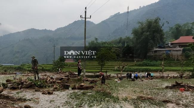Lào Cai: Lũ ống làm thiệt nhiều tài sản, hoa màu, ước tính 2,5 tỷ đồng - Ảnh 3.