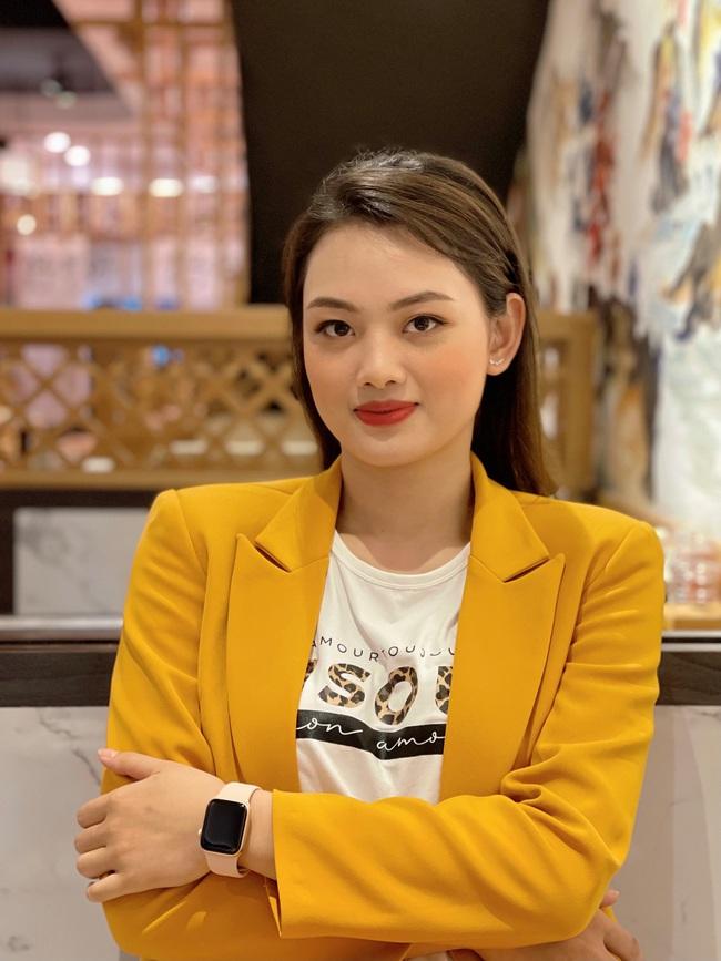 """Hoa khôi bóng chuyền Nguyễn Thu Hoài """"bắn"""" tiếng Anh như gió - Ảnh 6."""