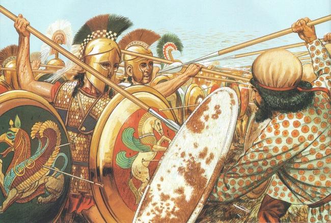 Điểm lại những trận đánh làm rung chuyển châu Âu thời cổ đại - Ảnh 2.