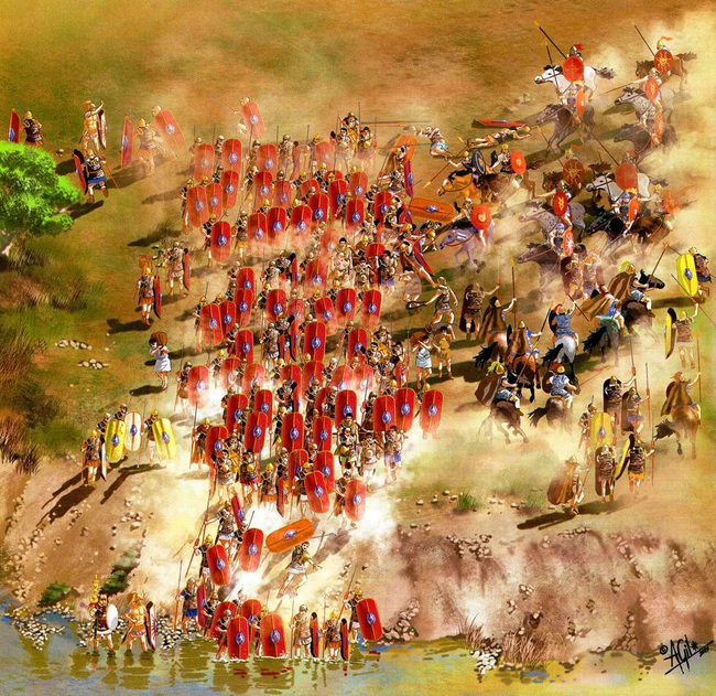 Điểm lại những trận đánh làm rung chuyển châu Âu thời cổ đại - Ảnh 7.
