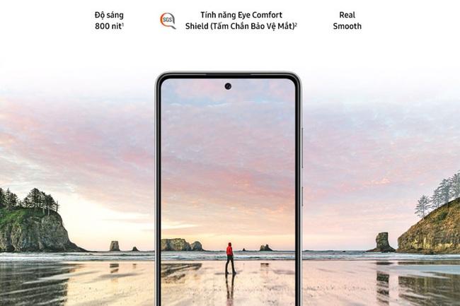 Cận cảnh Galaxy A72, siêu phẩm đáng mua nhất phân khúc tầm trung - Ảnh 3.