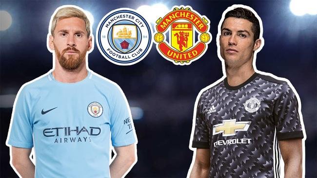 Ngóng Messi và Ronaldo tái ngộ... derby Manchester  - Ảnh 1.