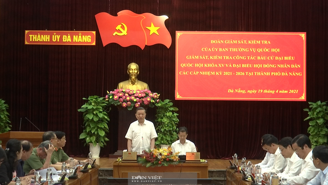 """Đại tướng Tô Lâm: """"Đấu trang phản bác các thế lực thù địch xuyên tạc, chống phá công tác bầu cử"""" - Ảnh 2."""