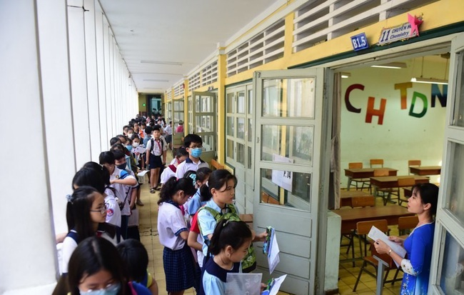 Khối 6 chuyên duy nhất của TP.HCM tuyển 535 học sinh - Ảnh 1.