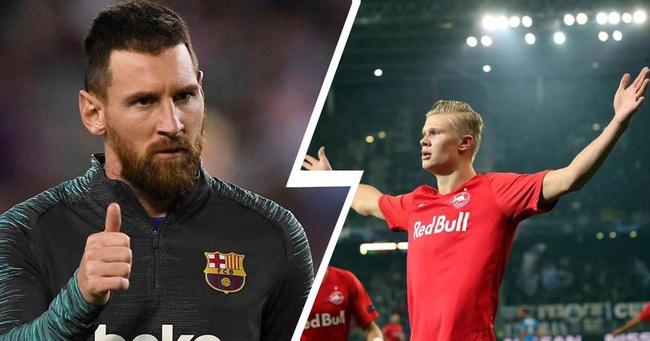 Messi thích mẫu trung phong mắn bàn thắng.