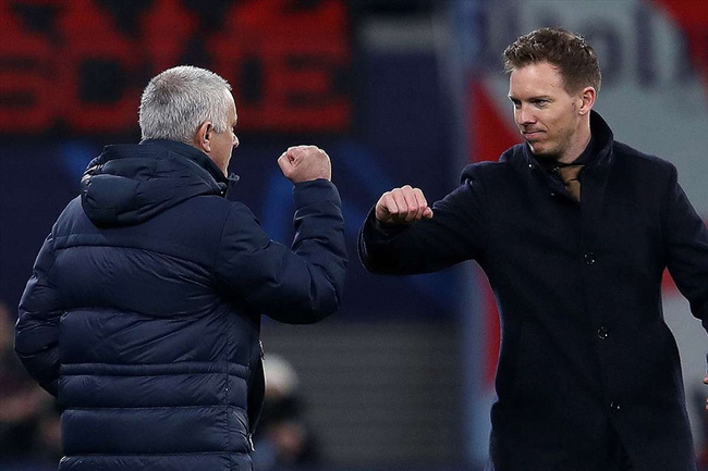Mourinho từng thua Nagelsmann vào năm ngoái.