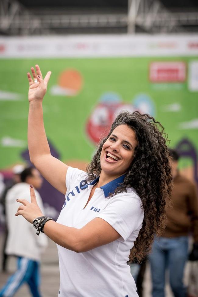 Nữ đội trưởng xinh đẹp, quyền lực nhất bóng đá Palestine - Ảnh 5.
