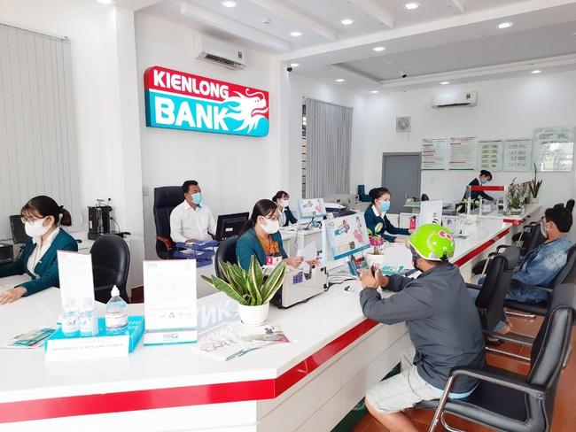 Xử lý hết tài sản đảm bảo là cổ phiếu Sacombank, Kienlongbank báo lãi quý 1 lên tới 702,62 tỷ đồng - Ảnh 1.