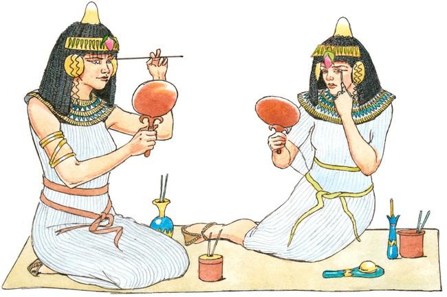 Lộ lý do cả nam, nữ Ai Cập cổ đại rất thích trang điểm - Ảnh 6.