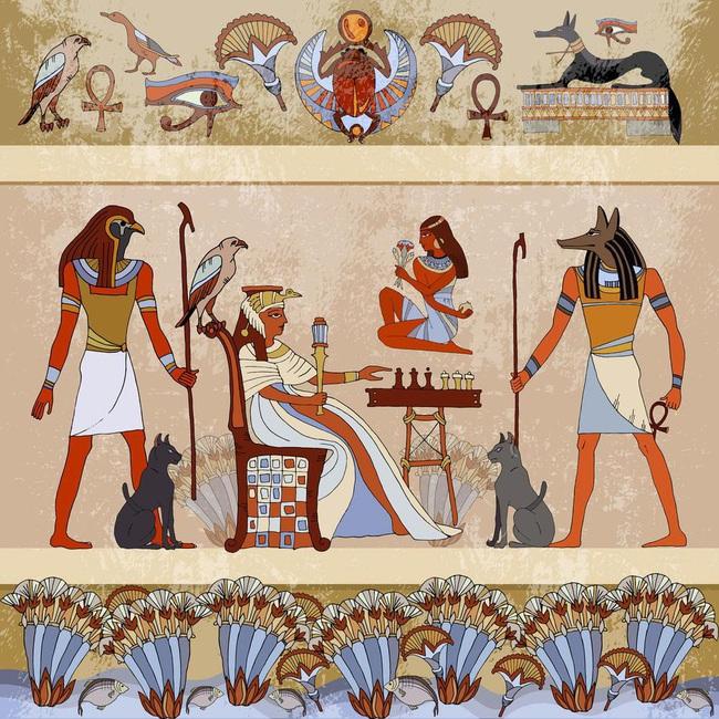 Lộ lý do cả nam, nữ Ai Cập cổ đại rất thích trang điểm - Ảnh 8.