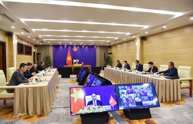 Chủ tịch nước Nguyễn Xuân Phúc dự Hội nghị thượng đỉnh Khí hậu theo lời mời của Tổng thống Mỹ Biden - Ảnh 3.